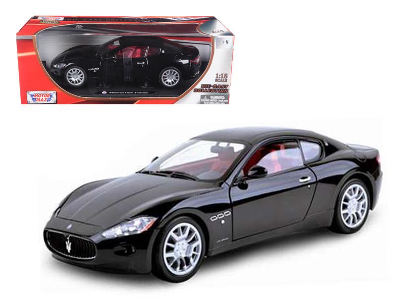 Maserati Gran Turismo Black 1/18 Diecast Car Model Motormax 79151
