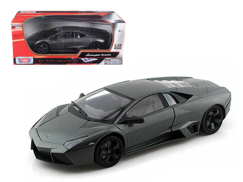 Lamborghini Reventon Grey 1/18 Diecast Car Model Motormax 79155