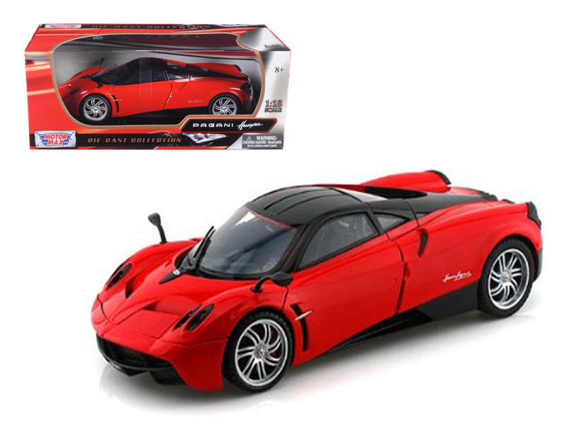 Pagani Huayra Red 1/18 Diecast Car Model Motormax 79160