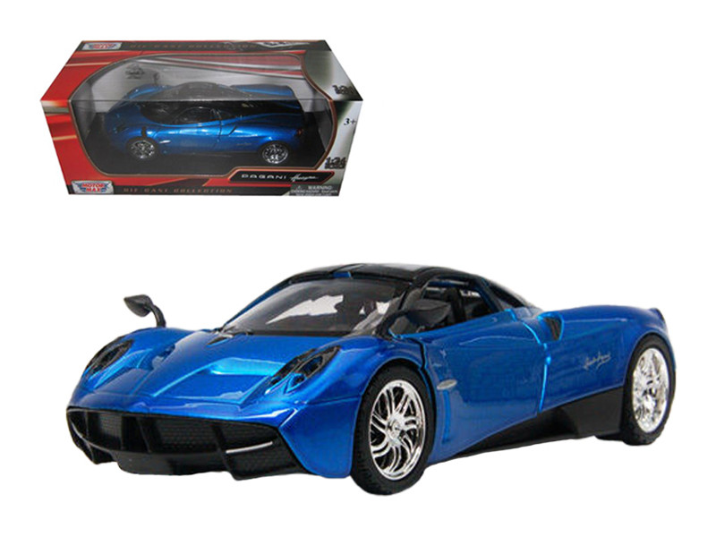Pagani Huayra Blue 1/24 Diecast Car Model Motormax 79312