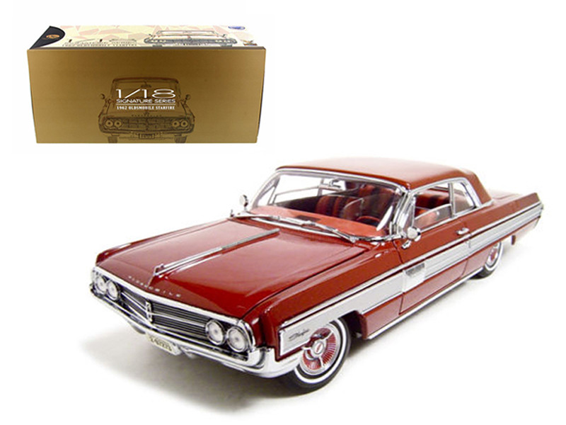 1962 Oldsmobile Starfire Garnet Red 1/18 Diecast Car Model Road Signature 20208