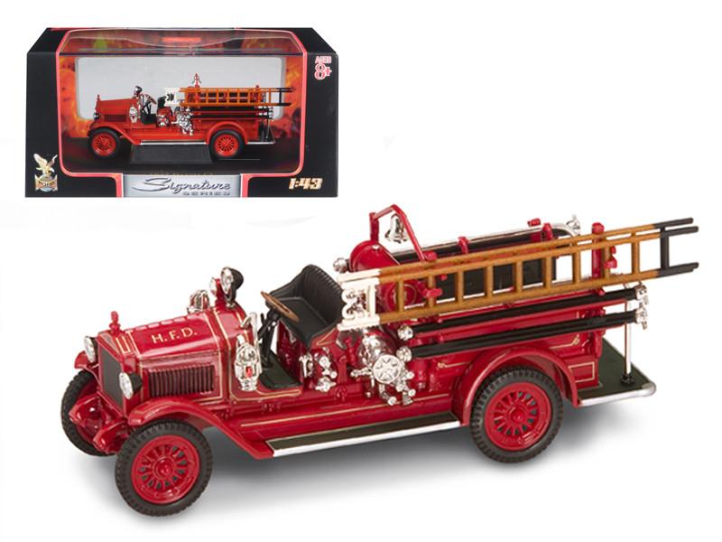 1923 Maxim C-1 Fire Engine Red 1/43 Diecast Model Car Road Signature 43002