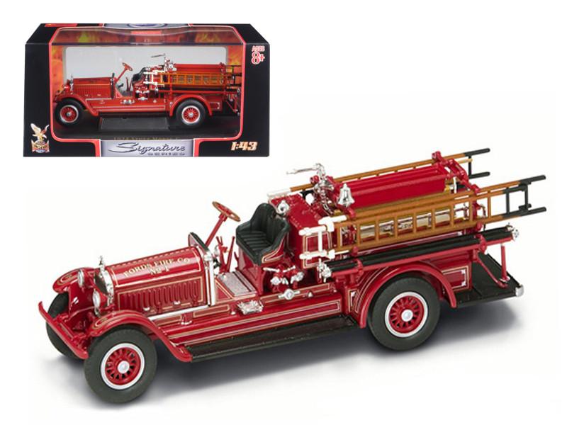 1924 Stutz Model C Fire Engine Red 1/43 Diecast Model Road Signature 43006