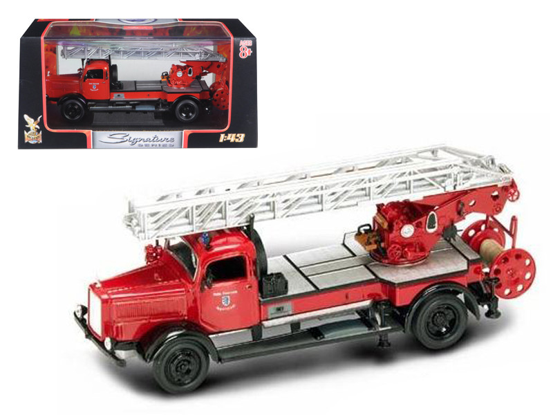 1944 Mercedes Typ L4500F Fire Engine Red 1/43 Diecast Model Road Signature 43012