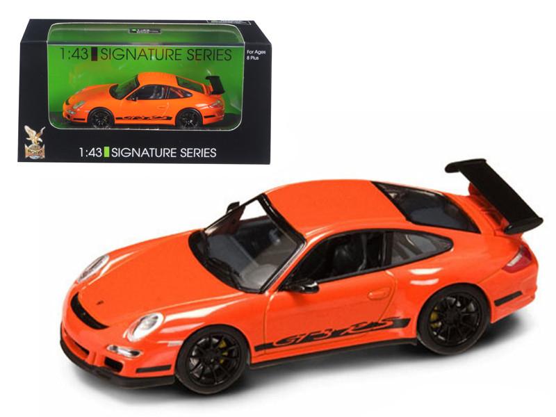 Porsche 911 997 GT3 RS Orange 1/43 Diecast Car Model by Road Signature