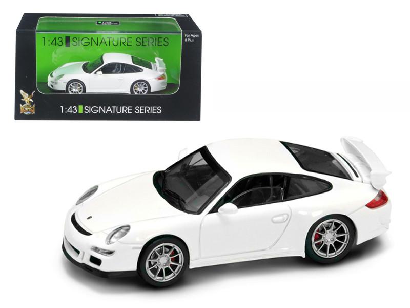 Porsche 911 997 GT3 White Signature Series 1/43 Diecast Model Car Road Signature 43205