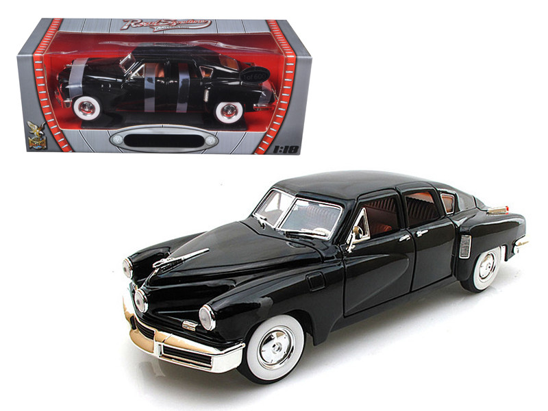 1948 Tucker Torpedo Black Limited Edition to 600pc 1/18 Diecast Model Road Signature 82268