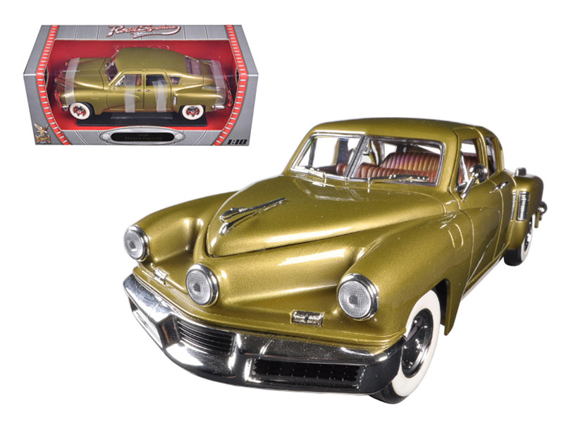 1948 Tucker Torpedo Gold 1/18 Diecast Model Car  Road Signature 92268