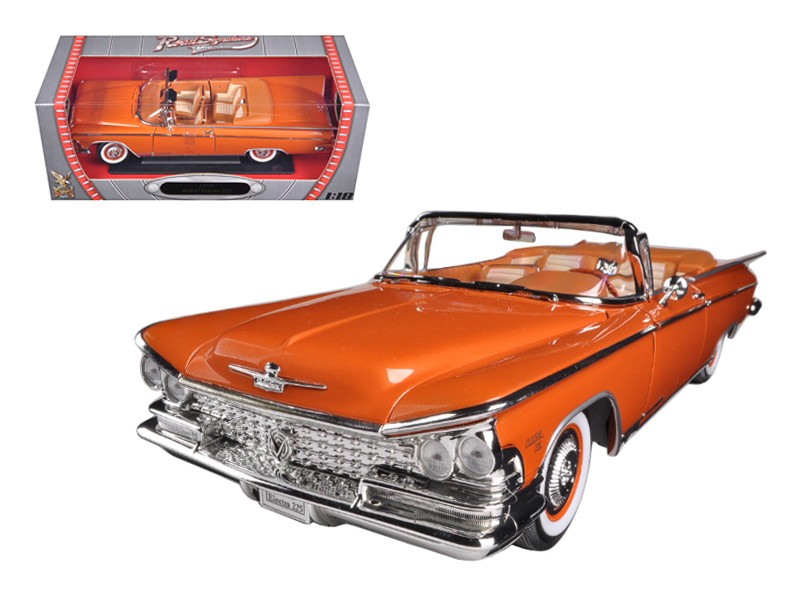 1959 Buick Electra 225 Copper 1/18 Diecast Model Car Road Signature 92598