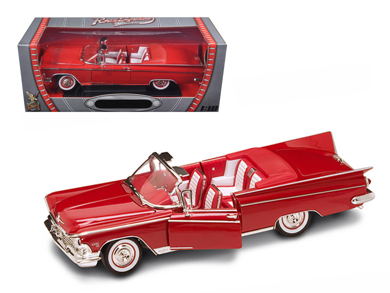 1959 Buick Electra 225 Convertible Red Diecast Model Car 1/18 Road Signature 92598