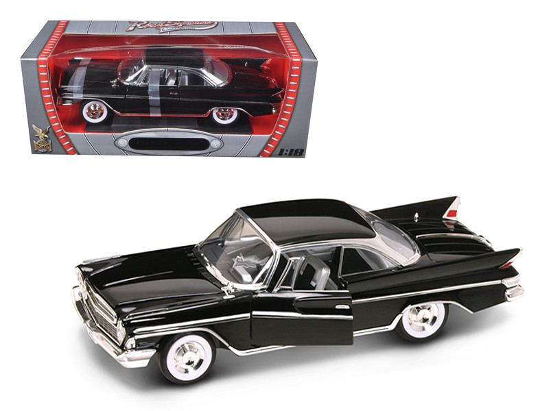 1961 Desoto Adventurer Black 1/18 Diecast Car Model Road Signature 92738