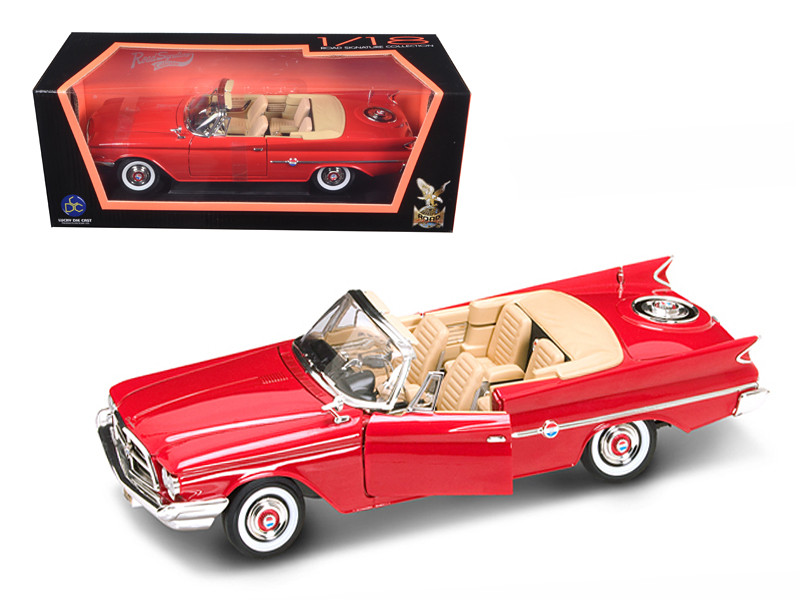 1960 Chrysler 300F Red 1/18 Diecast Car Road Signature 92748