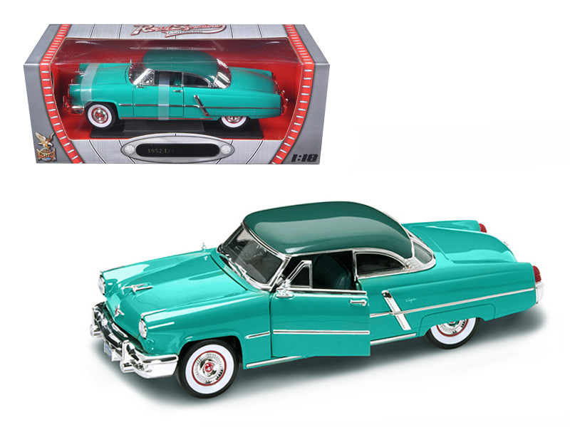 1952 Lincoln Capri Green 1/18 Diecast Model Car Road Signature 92808