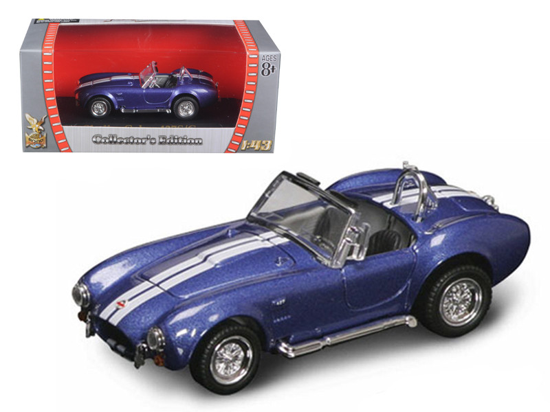 1964 Shelby Cobra 427 S/C Blue 1/43 Diecast Car Road Signature 94227