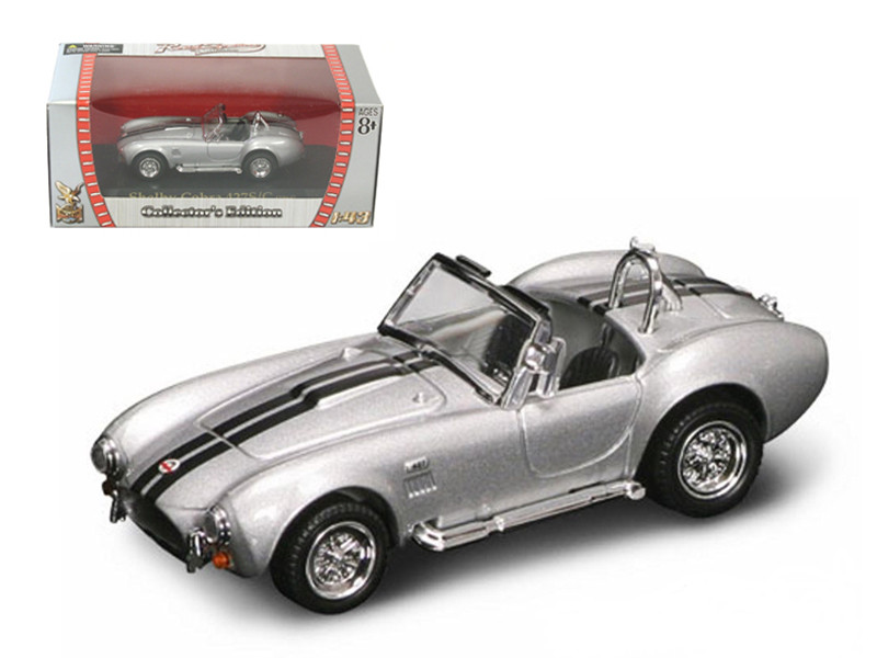 1964 Shelby Cobra 427 S/C Silver 1/43 Diecast Car Road Signature 94227