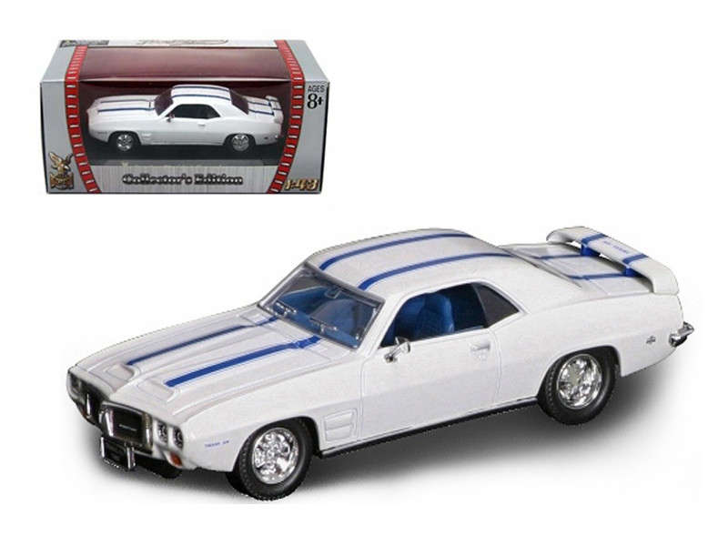 1969 Pontiac Firebird Trans Am White 1/43 Diecast Car Road Signature 94238