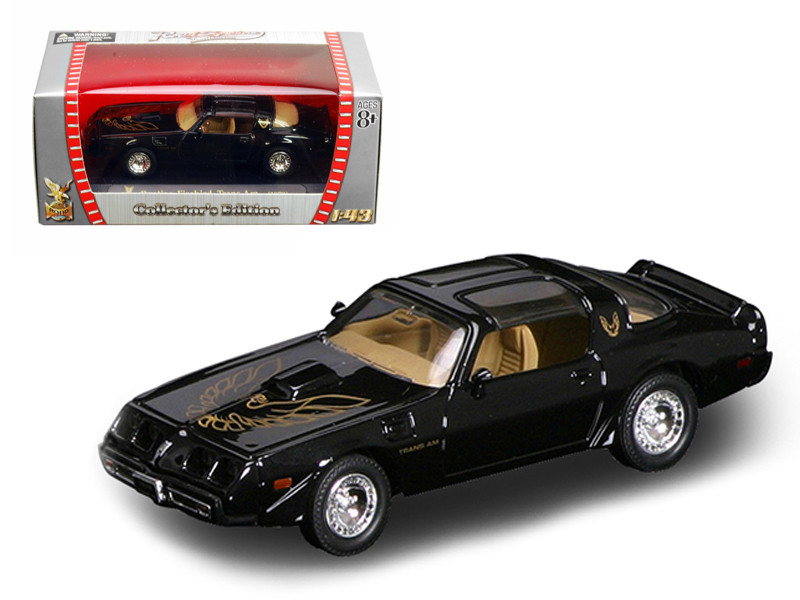1979 Pontiac Firebird Trans Am Black 1/43 Diecast Car Road Signature 94239