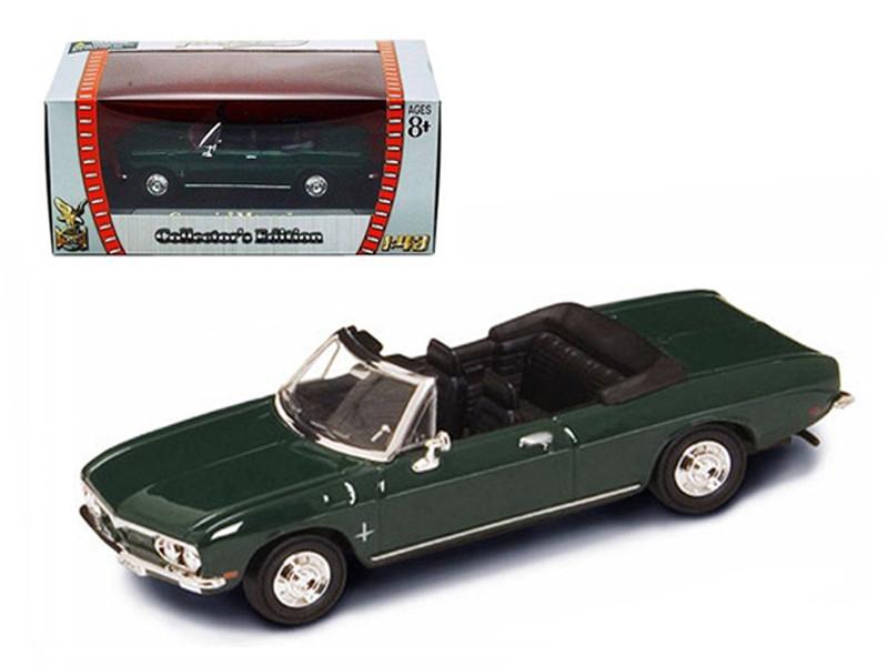 1969 Chevrolet Corvair Monza Green 1/43 Diecast Model Car Road Signature 94241