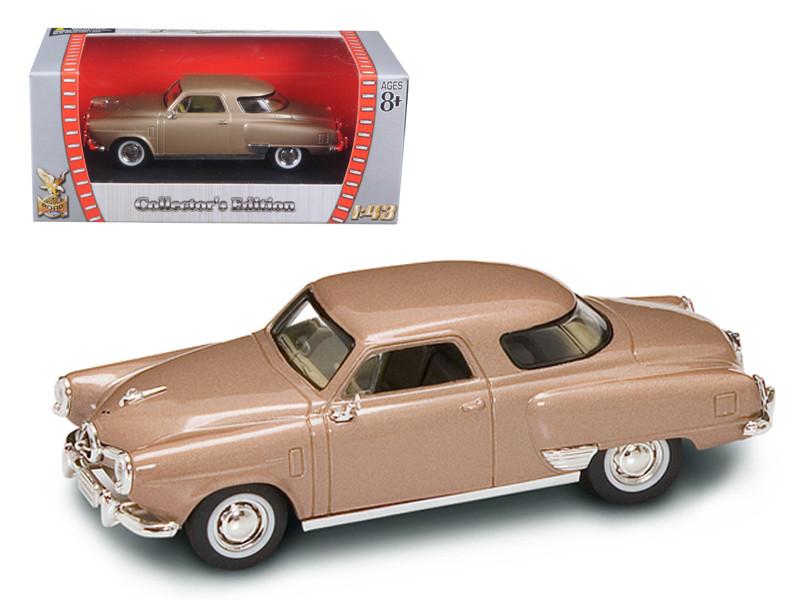 1950 Studebaker Champion Golden Tan 1/43 Diecast Car Model Road Signature 94249