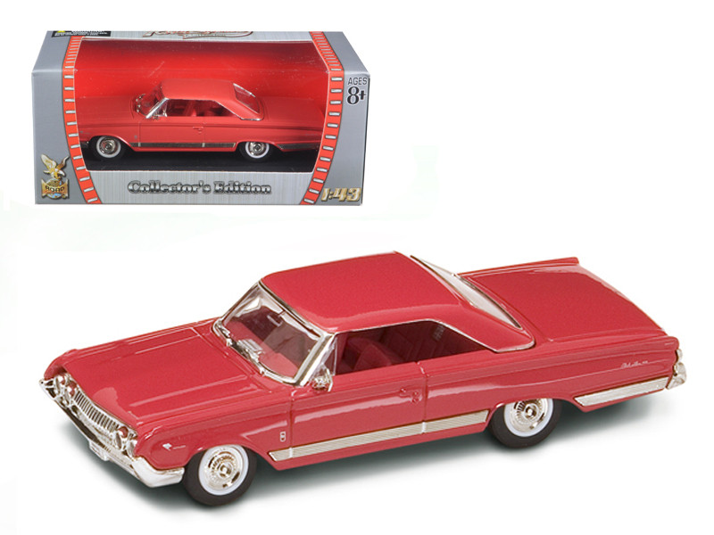 1964 Mercury Marauder Red/Cinnamon 1/43 Diecast Model Car Road Signature 94250