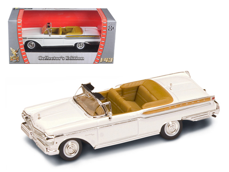 1957 Mercury Turnpike Cruiser White 1/43 Diecast Model Car Road Signature 94253
