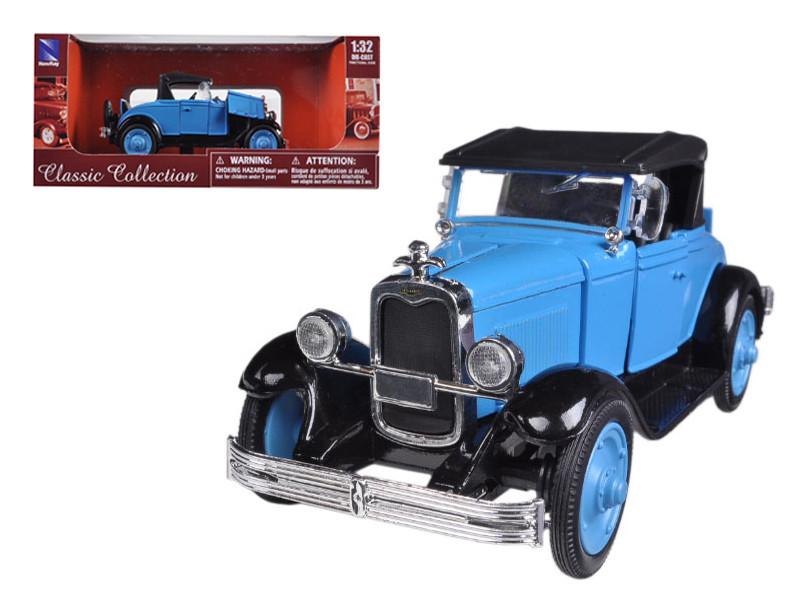 1928 Chevrolet Roadster Blue 1/32 Diecast Model Car New Ray 55013