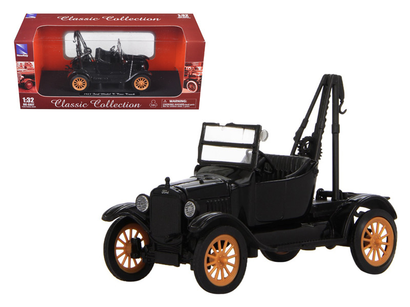 1923 Ford Model T Tow Truck 1/32 Diecast Model New Ray 55083