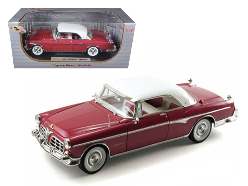 1955 Chrysler Imperial Canyon 1/18 Diecast Car Model by Signature Models