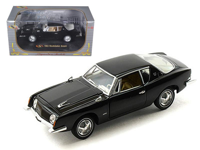 1963 Studebaker Avanti Black 1/32 Diecast Car Model Signature Models 32301
