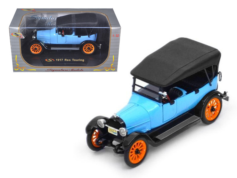 1917 Reo Touring Blue 1/32 Diecast Model Car Signature Models 32305