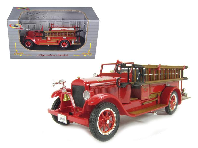 1928 Reo Fire Engine 1/32 Diecast Car Model Signature Models 32308