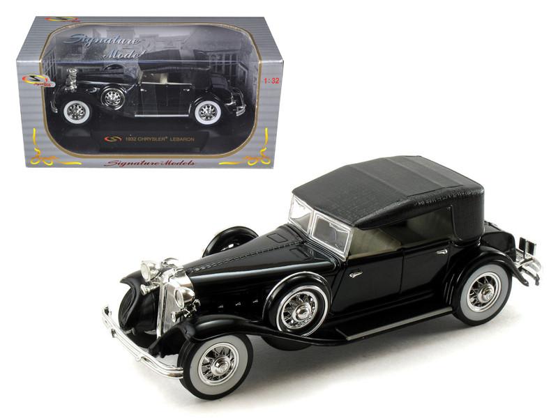 1932 Chrysler Lebaron Black 1/32 Diecast Car Model by Signature Models