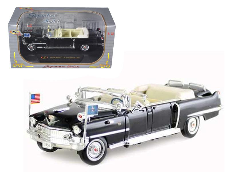 1956 Cadillac Presidential Limousine 1/32 Diecast Car Model Signature Models 32356