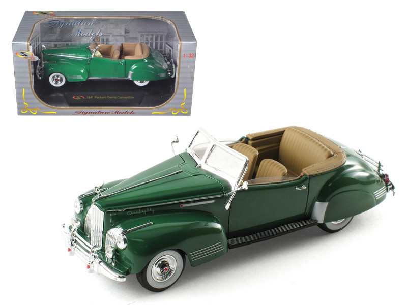 1941 Packard Darrin One Eighty Green 1/32 Diecast Car Model Signature Models 32398