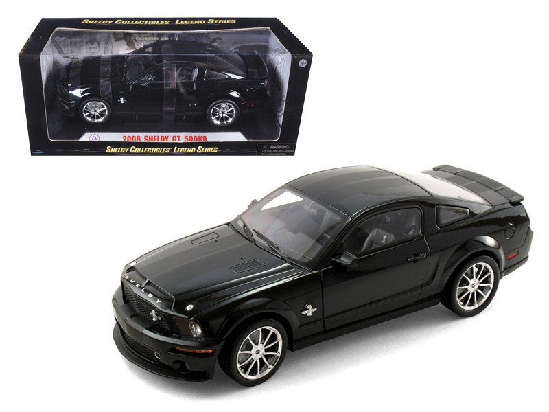 2008 Shelby Mustang GT500KR Black 1/18 Diecast Model Car Shelby Collectibles SC299