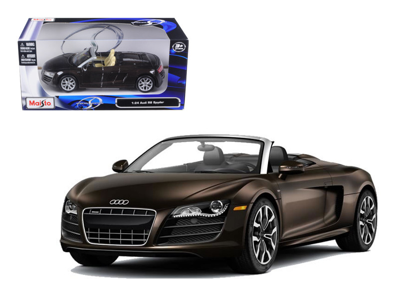 2011 Audi R8 Spyder Brown 1/24 Diecast Model Car Maisto 31204