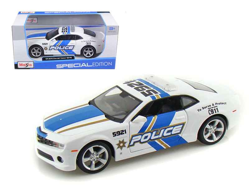 2010 Chevrolet Camaro RS SS Police 1/24 Diecast Model Car Maisto 31208