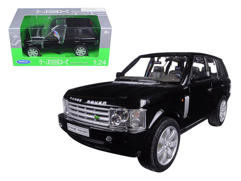 Land Rover Range Rover Black 1/24 Diecast Model Car Welly 22415