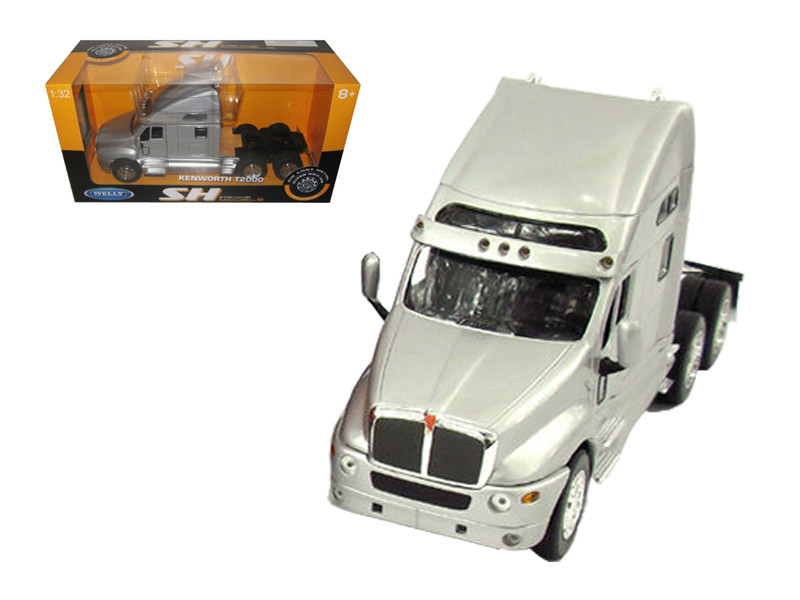 Kenworth T2000 Cab Silver 1/32 Diecast Model by Welly