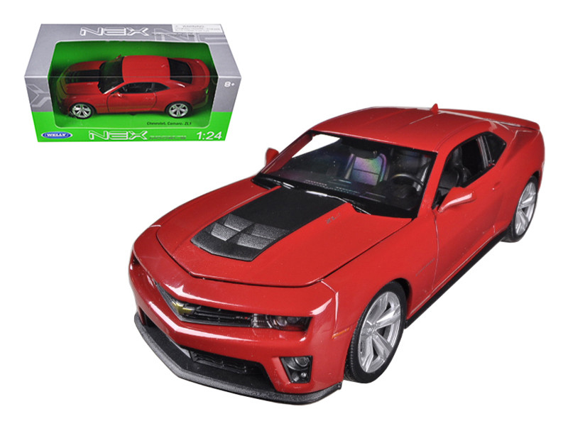 Chevrolet Camaro ZL1 Red 1/24 Diecast Car Model Welly 24042