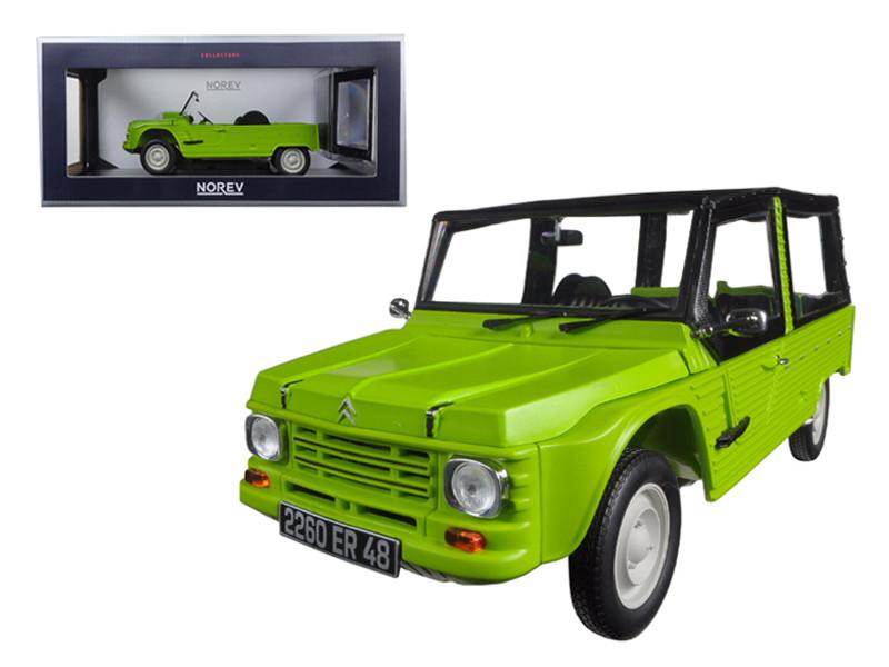1983 Citroen Mehari Tibesti Green 1/18 Model Car Norev 181519