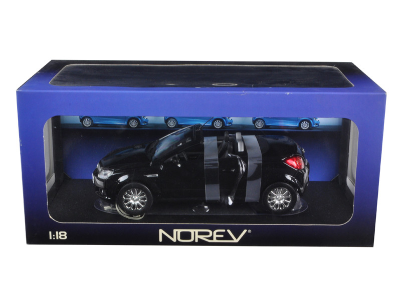 Opel Tigra Convertible Black 1/18 Diecast Car Model Norev  183600