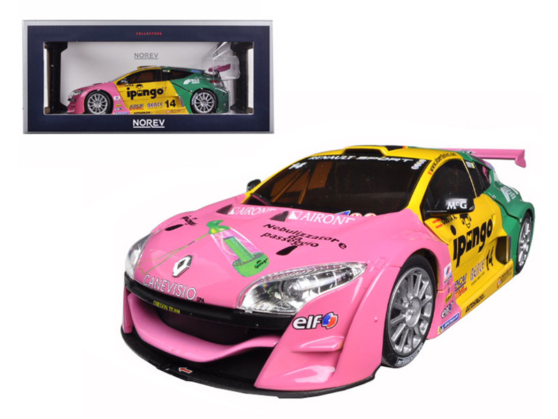2012 Renault Megane #14 Throphy Winner Team Oregon-Costa 1/18 Diecast Model Car Norev 185113