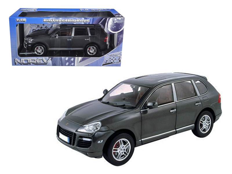 Porsche Cayenne Turbo Grey 1/18 Diecast Model Car Norev 187534