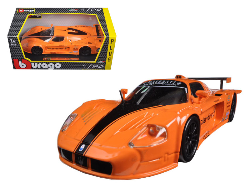 Maserati MC 12 Orange 1/24 Diecast Model Car Bburago 21078
