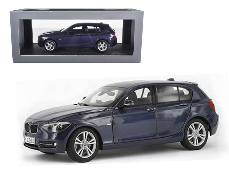 BMW F20 1 Series Blue 1/18 Diecast Car Model Paragon 97005
