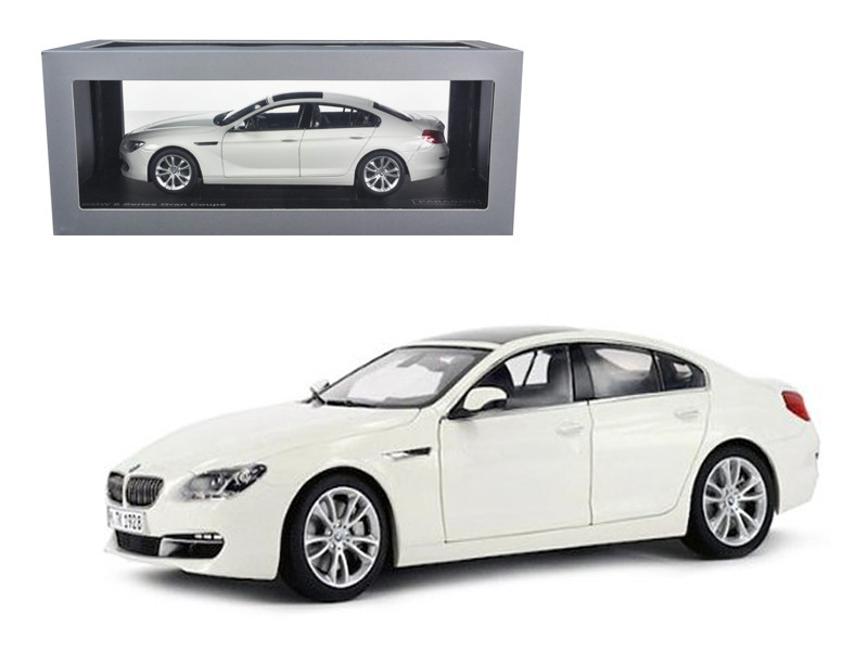 BMW 650i Gran Coupe 6 Series F06 Alpine White 1/18 Diecast Car Model Paragon 97032