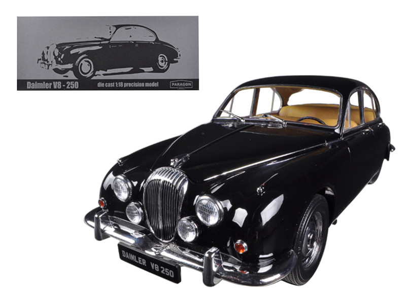 1967 Daimler V8-250 Black Limited to 3000pc 1/18 Diecast Car Model Paragon 98311
