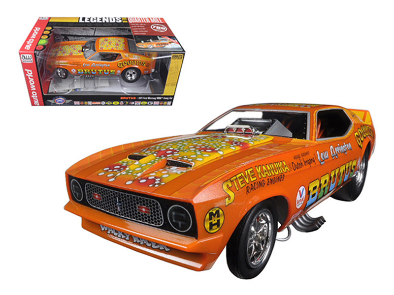 1971 Ford Mustang NHRA Funny Car Limited Edition to 750pcs 1/18 Model Car Autoworld AW1169