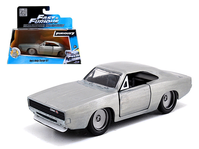 "Dom's Dodge Charger R/T Bare Metal ""Fast & Furious 7"" Movie 1/32 Diecast Model Car Jada 97350"